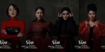Disney Asia Pilih 4 Wanita Indonesia Nyanyikan `Reflection`Dari Mulan